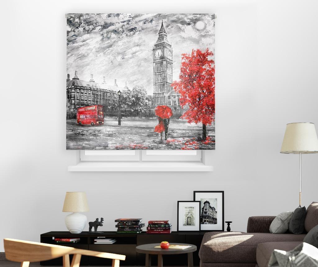 Rolo zavesa London Art 140x180 cm