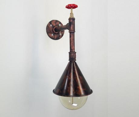 Industrial Copper Fali lámpa