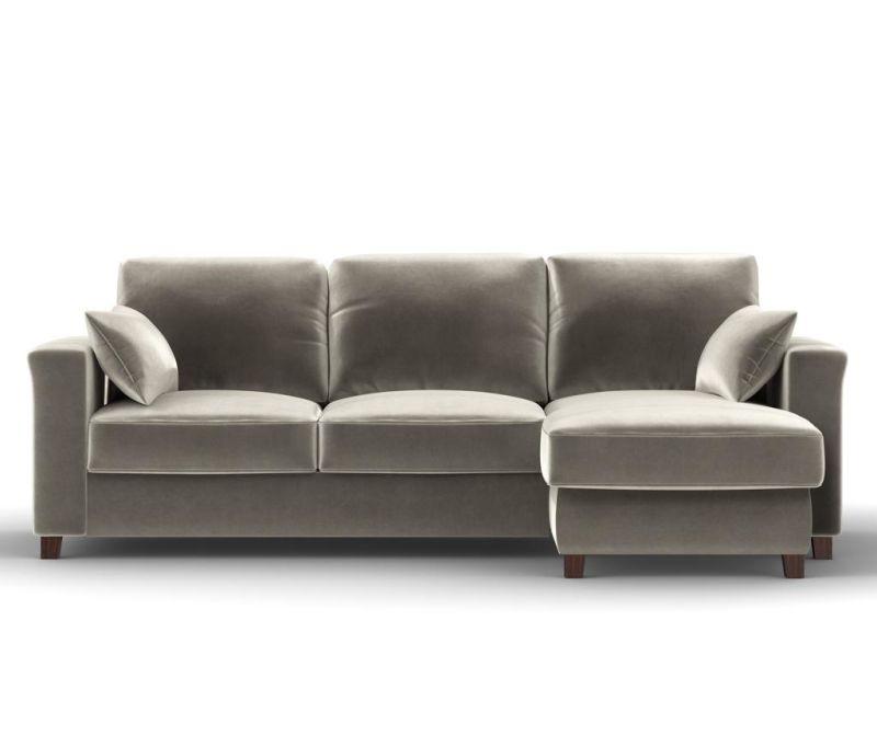 Reverzibilna in raztegljiva kotna sedežna garnitura Relax Beige