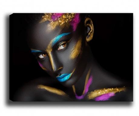 Tablou Color Lady 70x100 cm