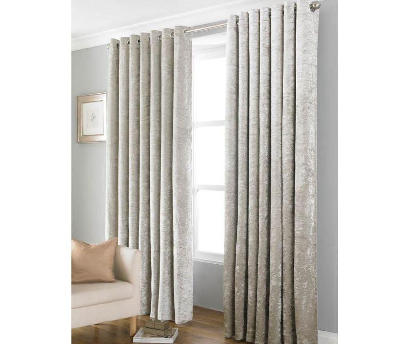 Set 2 draperii Bliss Natural 117x137 cm