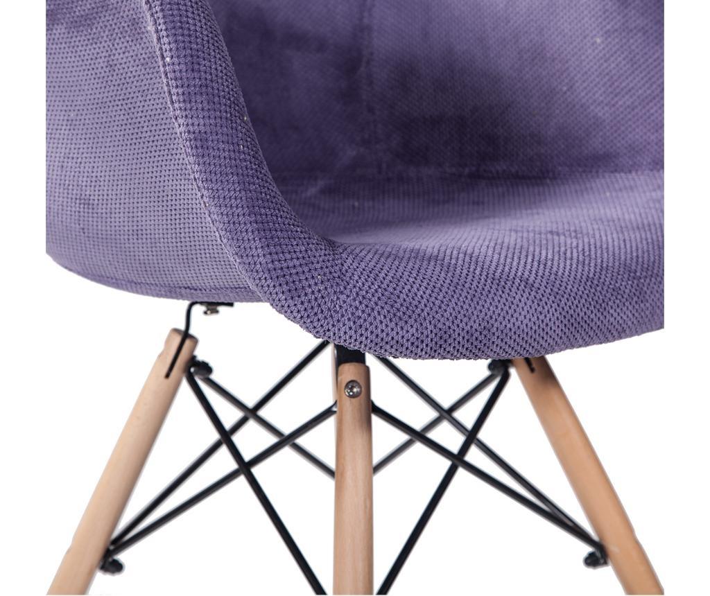 Stol Scandi Comfy Purple