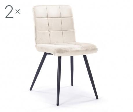 Set 2 stolice Eloise Beige