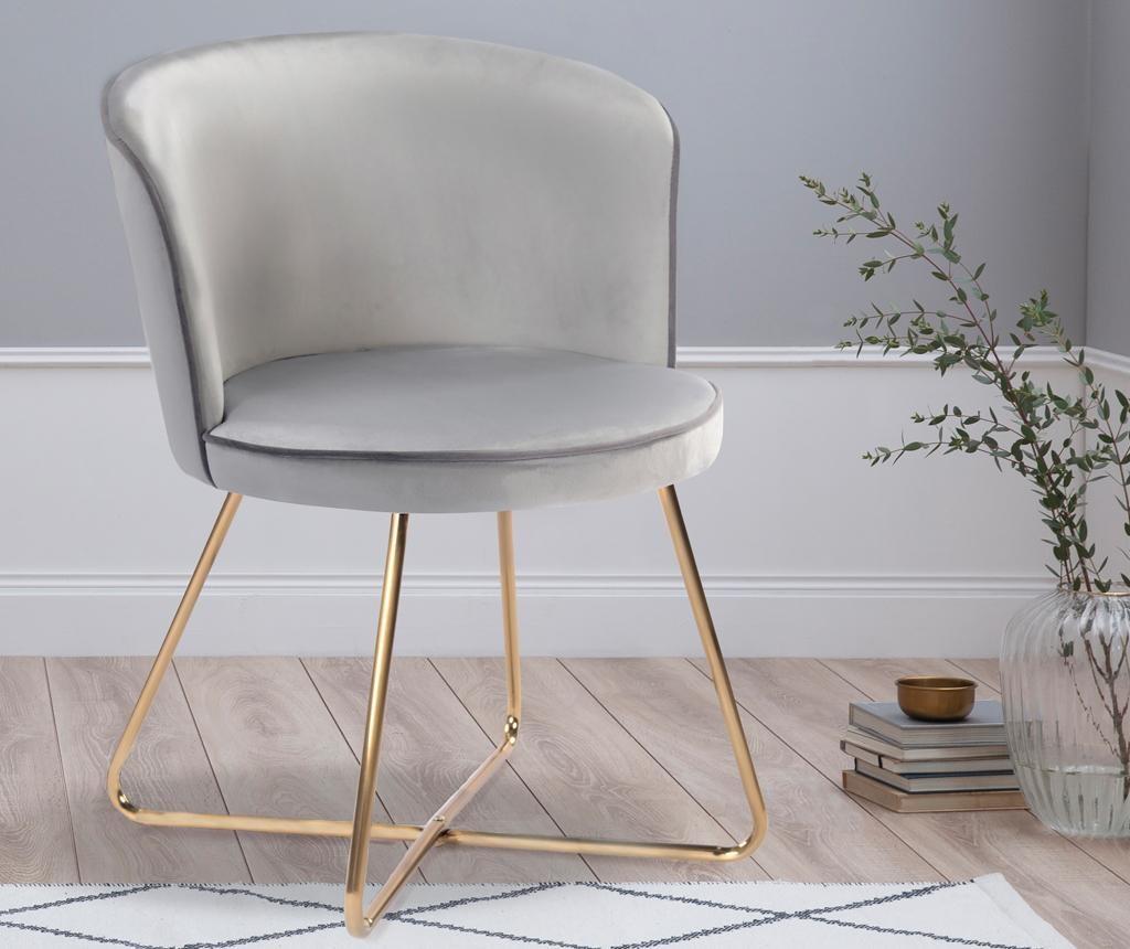 Židle Daisy Light Grey