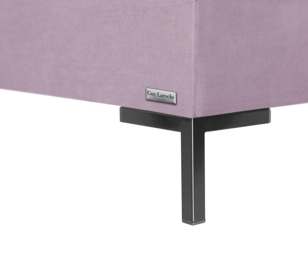 Lijeva ležaljka za dnevni boravak Harmony Lavender