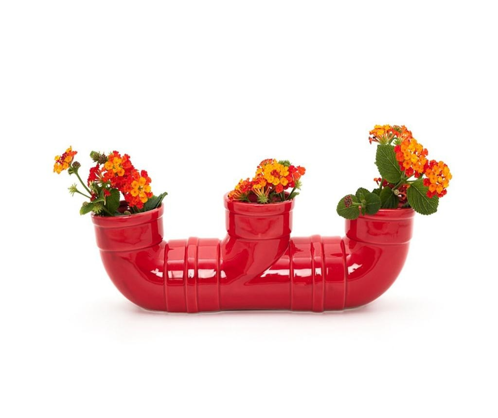Pipe Red Váza