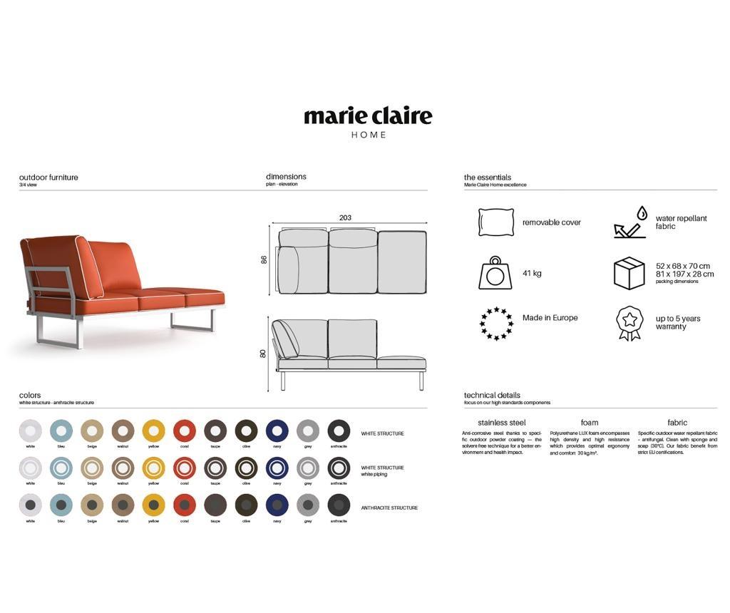 Стол за екстериор Marco Olive