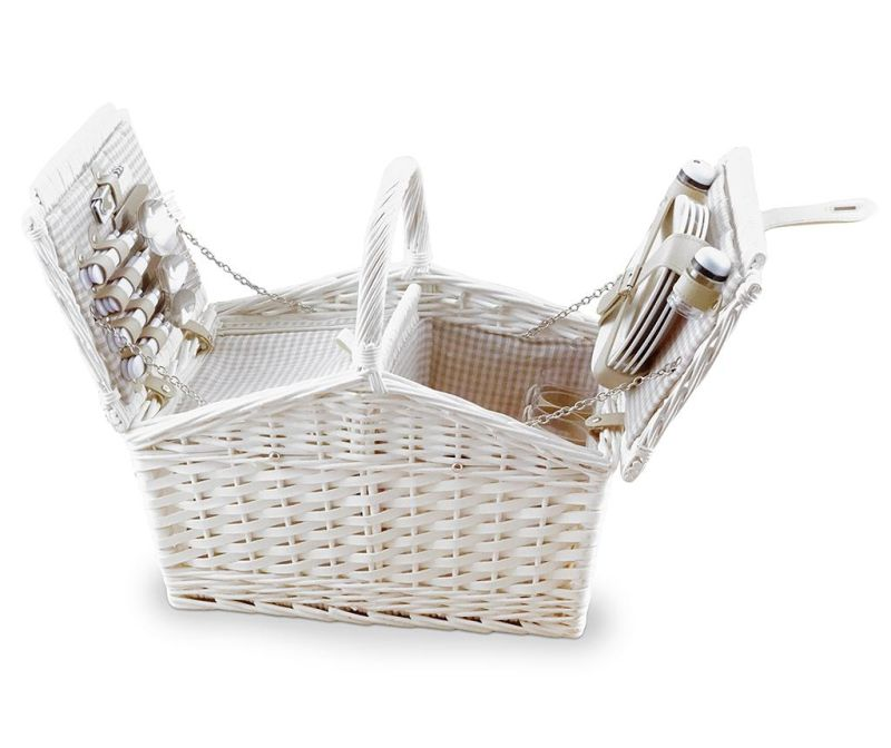 Piknik košara opremljena za 4 osebe Chic