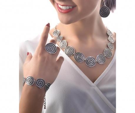Czteroczęściowy zestaw biżuterii Abigail