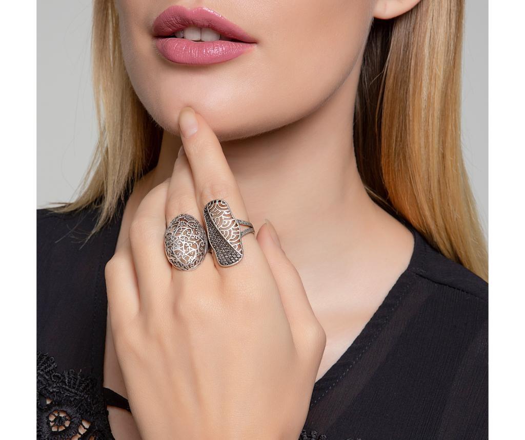 Sada 2 prstenů Rosy