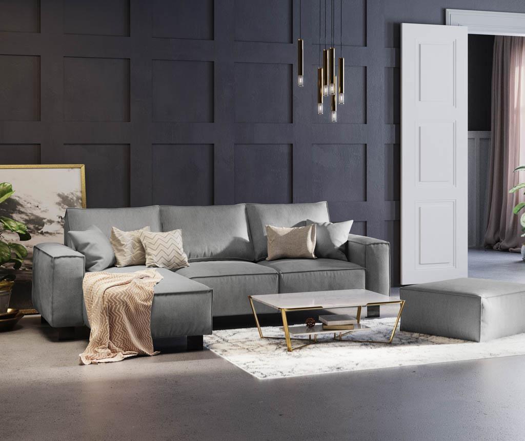Lijeva kutna garnitura Modern Grey