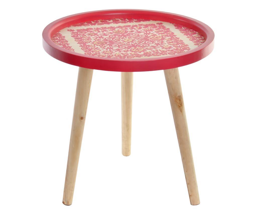 Konferenční stolek Pink Ethnic