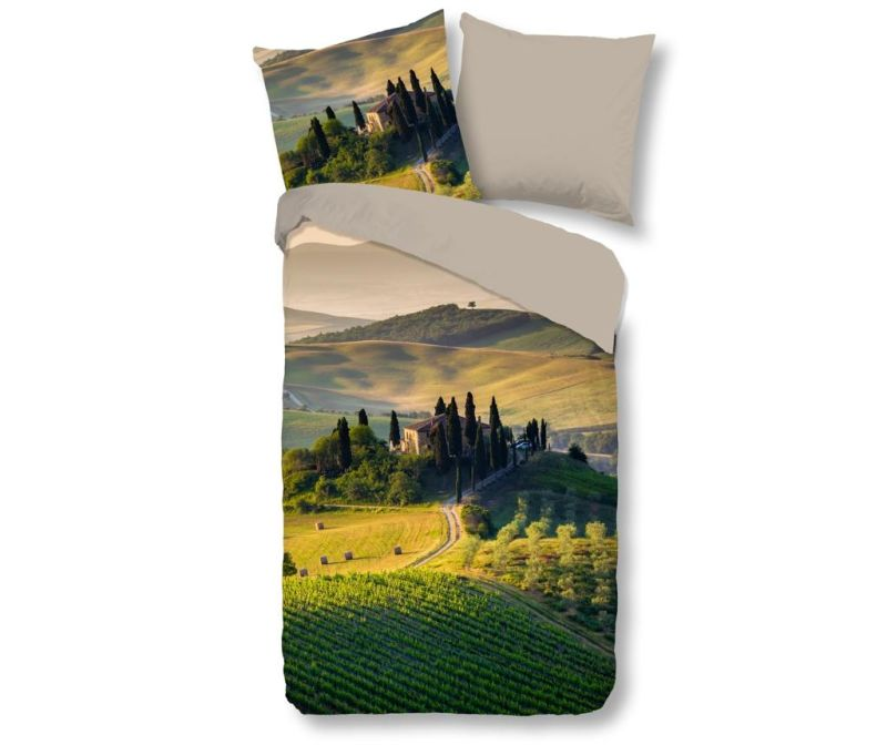 Posteljnina Single Tuscan Green