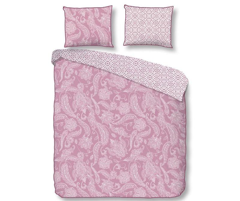 Posteljnina Single Sateen Cairo Pink Plus