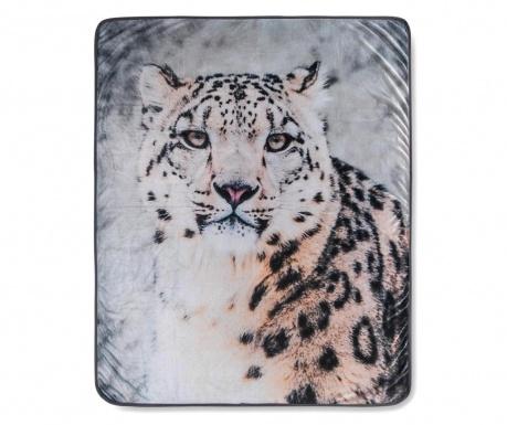 Κουβέρτα Snow Leopard Grey 130x160 cm