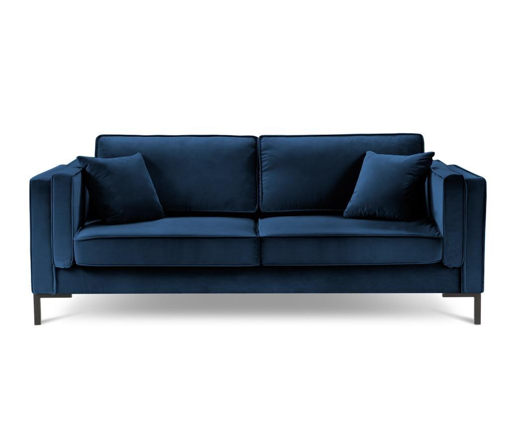 Canapea 3 locuri Luis Royal Blue