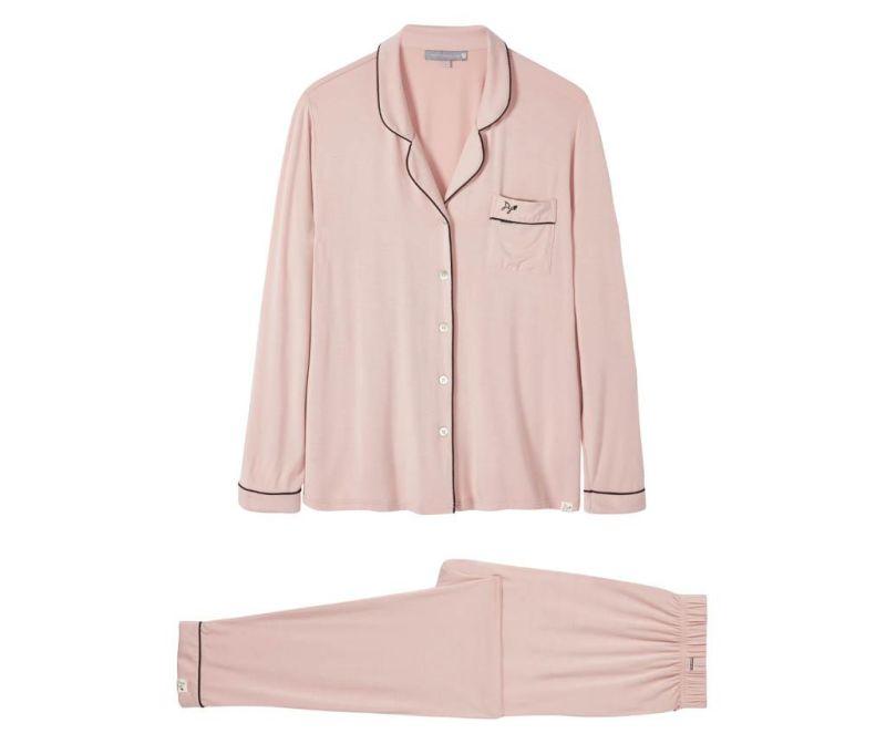 Ženska pižama Bamboo Pink 38