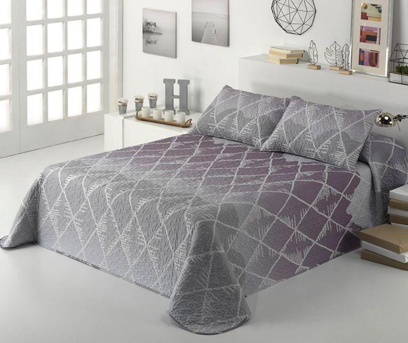 Set s posteljnim pregrinjalom Single Aiko Beige