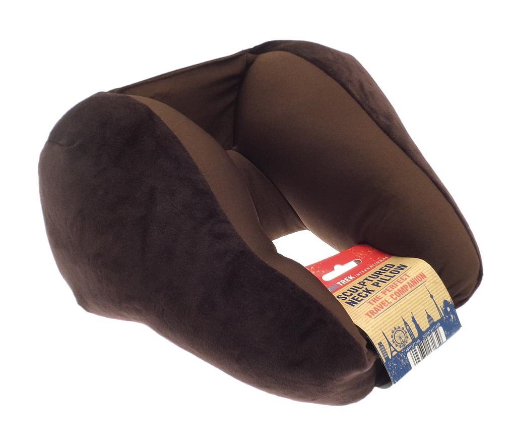 Jastuk za vrat Sculpture Brown