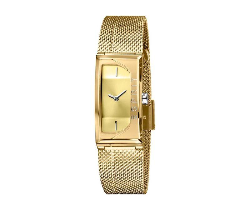 ženski ručni sat Esprit Houston Champagne and Gold Tone