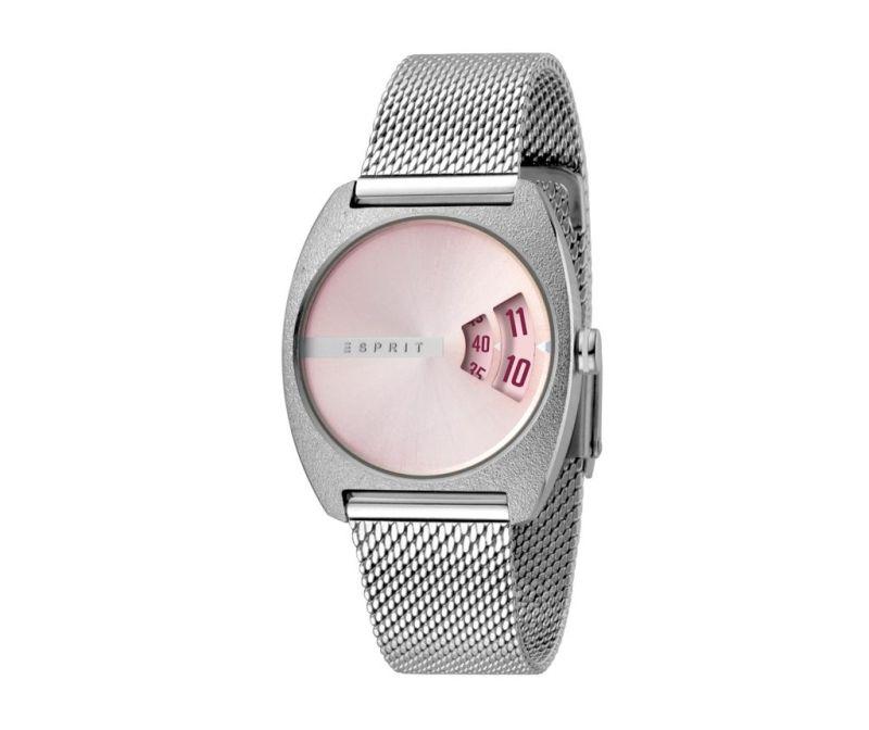 Ženska zapestna ura Esprit Disc Mood Pink and Silver