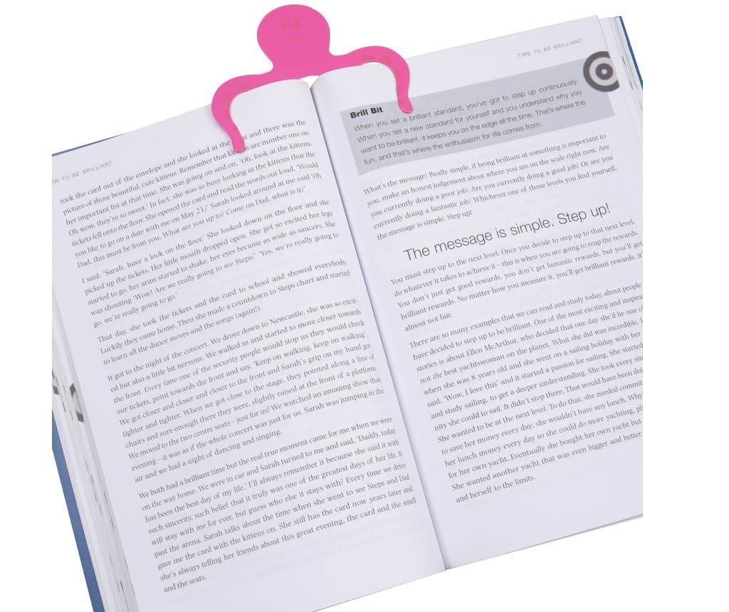 Booktopus Pink Könyvtámasz
