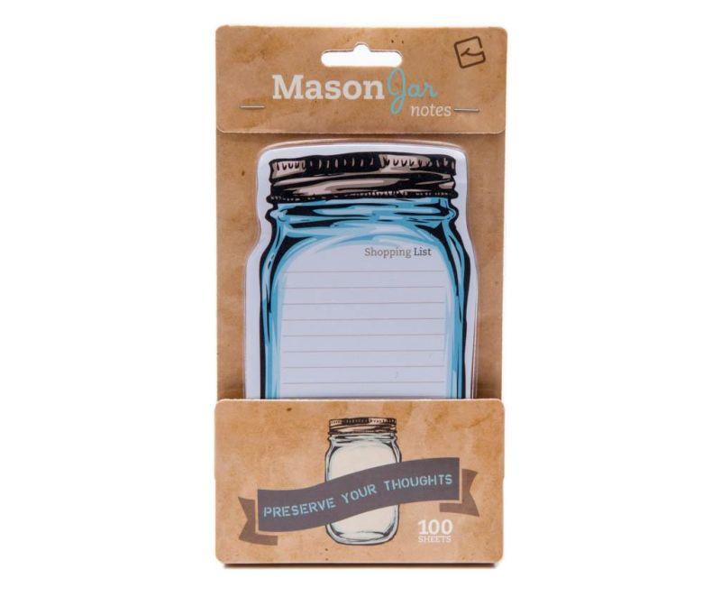 Samolepilni lističi Mason Jar Sticky Notes