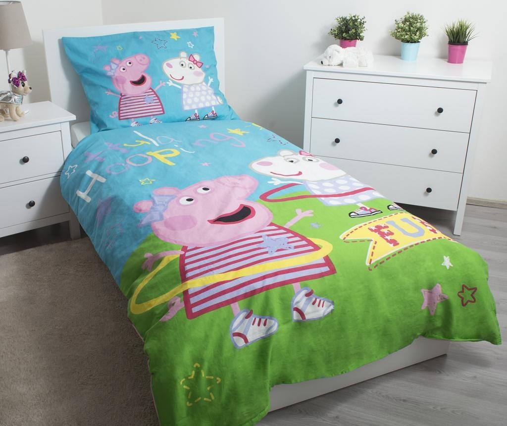 Posteljnina Single Peppa Pig