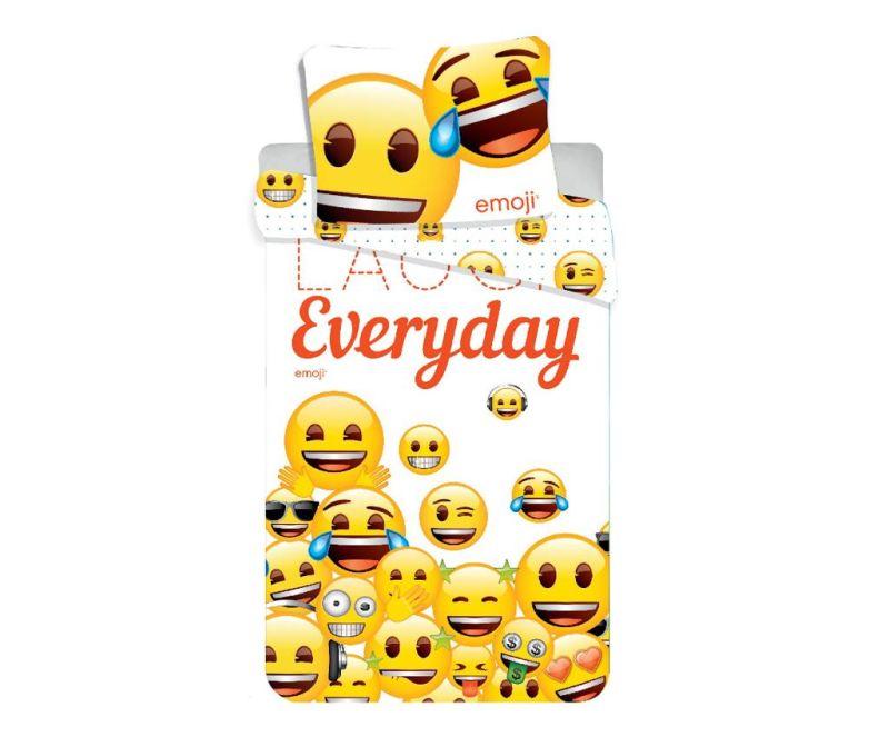 Posteljnina Single Emoji Laugh Everyday