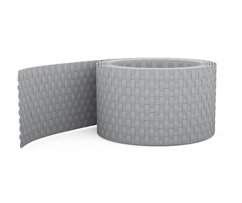 Rola za stranski baldahin - ograjo Easy Light Grey