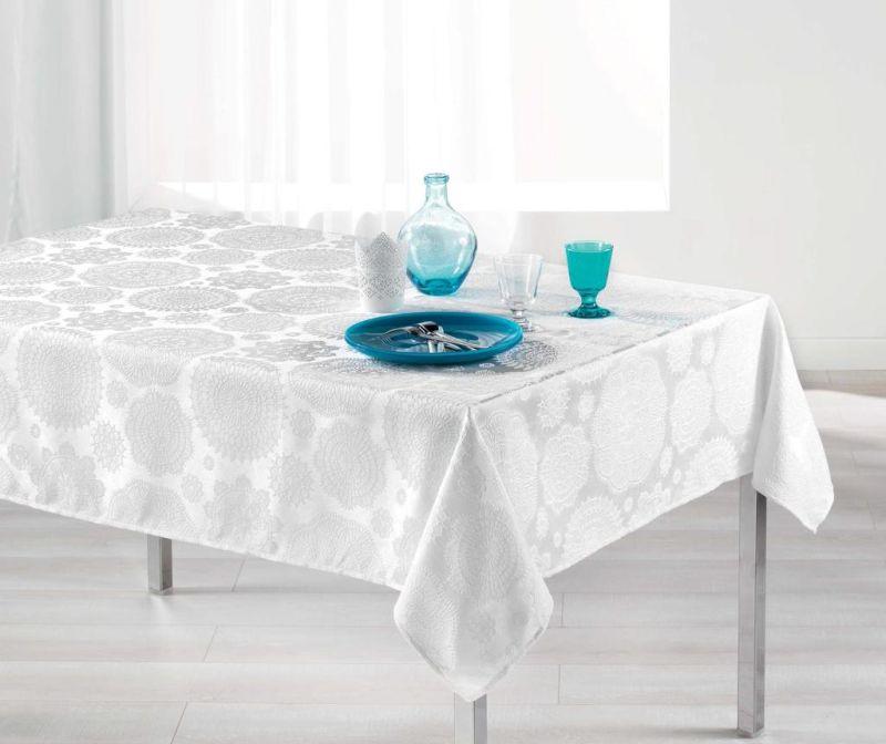 Namizni prt Rose Des Vents White 140x300 cm