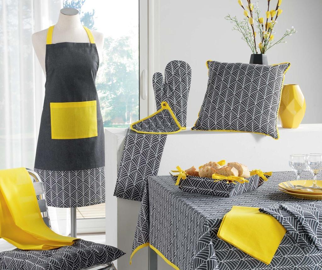 Perna de sezut Modern Style Yellow 40x40 cm