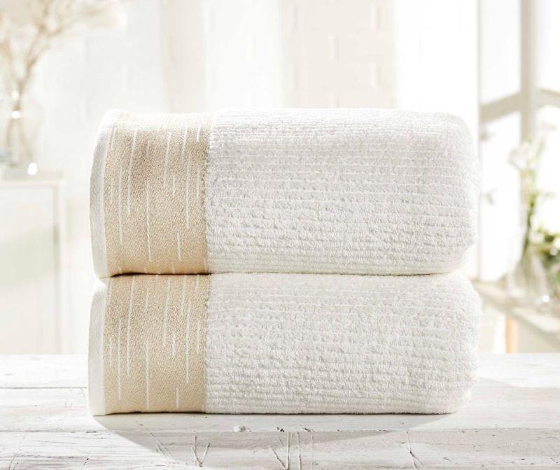 Set 2 kupaonska ručnika Mayfair Cream
