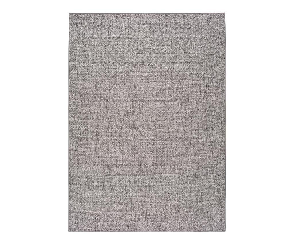 Jaipur Grey & Silver Szőnyeg 160x230 cm