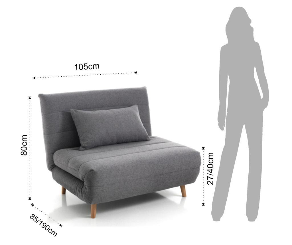 Разтегателен фотьойл Shift Lines