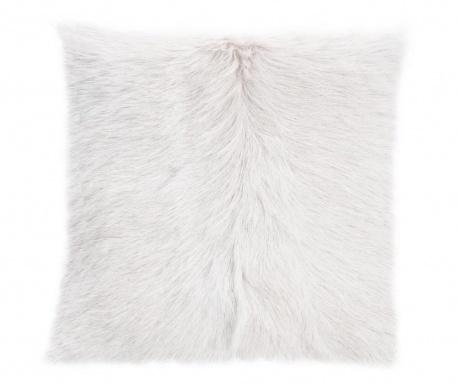 Διακοσμητικό μαξιλάρι Fur Maxi White 50x50 cm