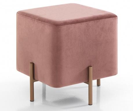 Σκαμπό Ammy Square Pink