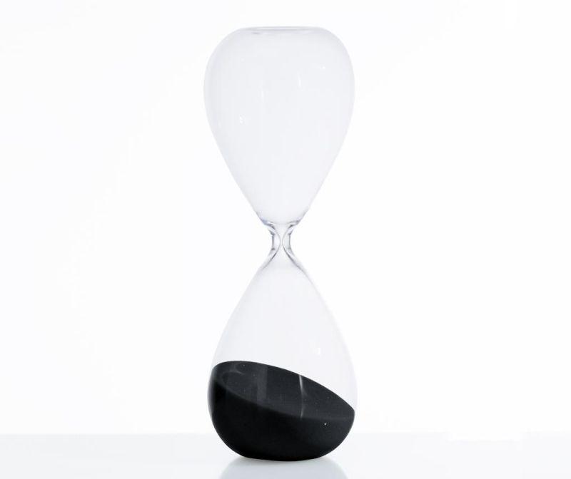Пясъчен часовник Tomtime 30 Black