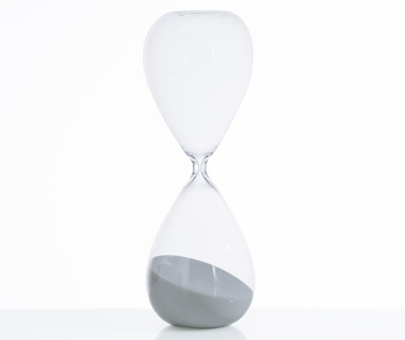Пясъчен часовник Tomtime 60 Grey