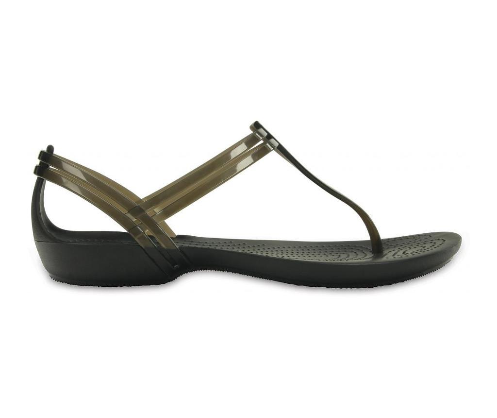 Ženske sandale Crocs Isabella T-strap Black 34-35