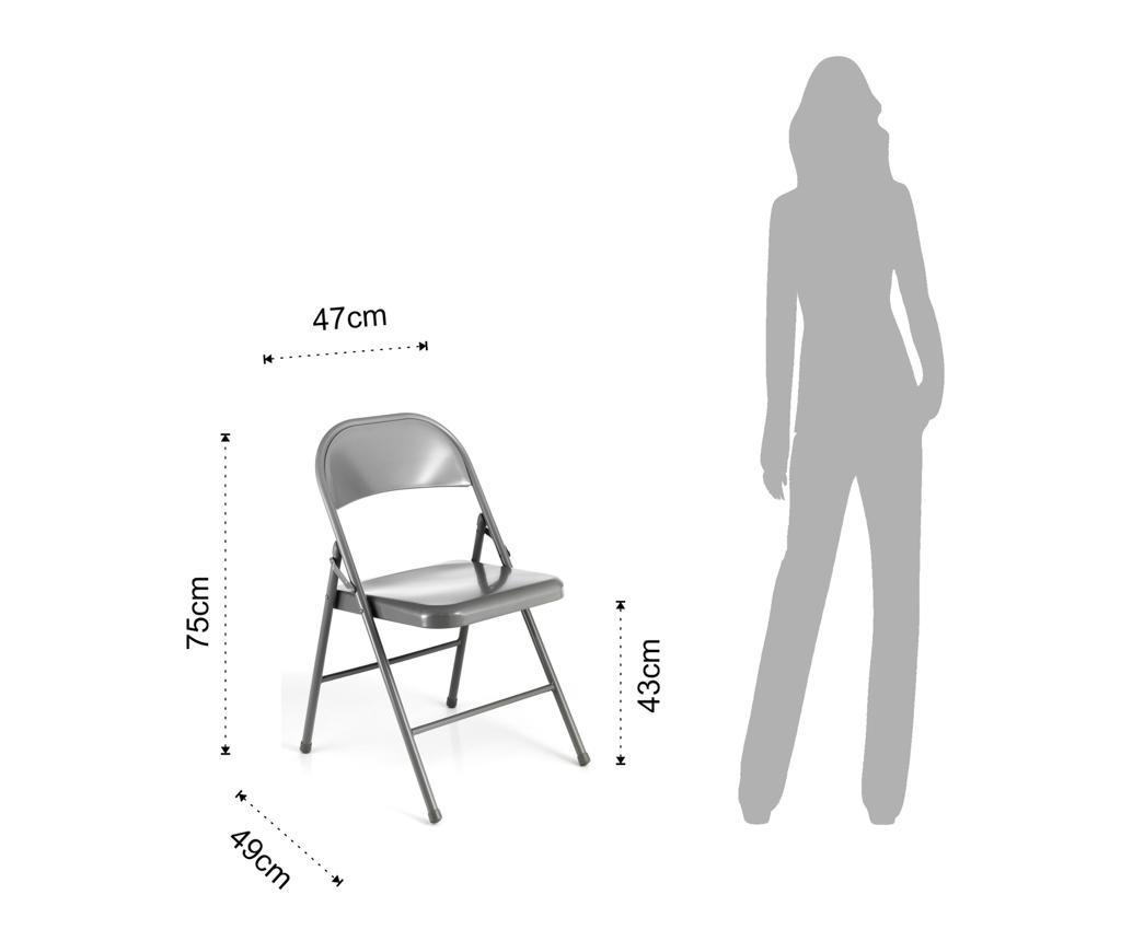 Комплект 2 сгъваеми стола Sekka