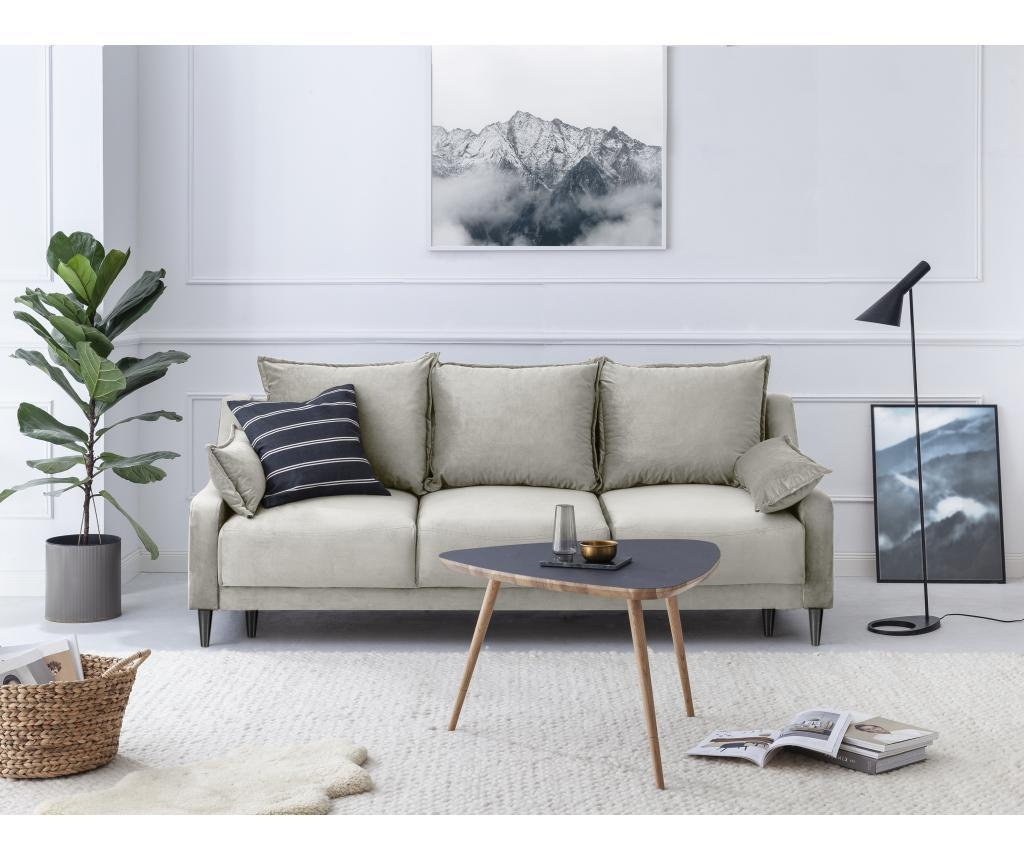 Canapea extensibila 3 locuri Lilas Beige