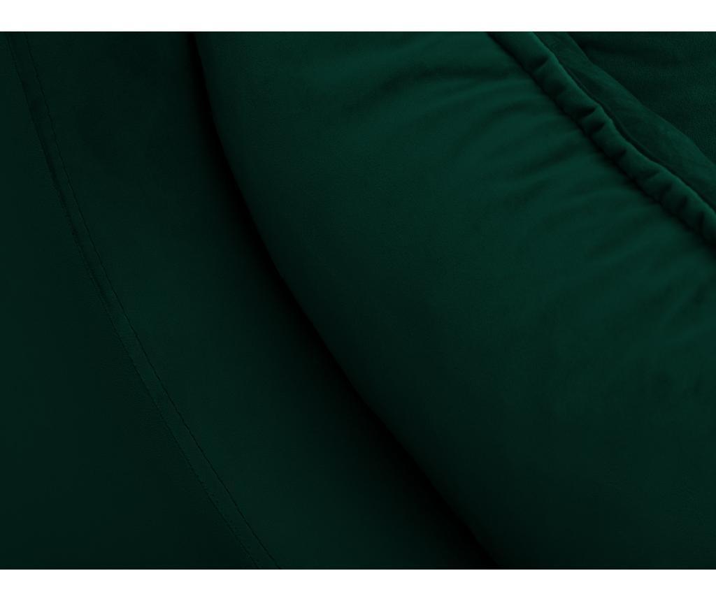 Canapea extensibila 3 locuri Lilas Bottle Green