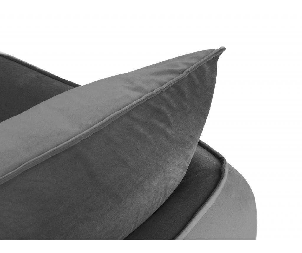 Čtyřmístná pohovka Verveine Light Grey