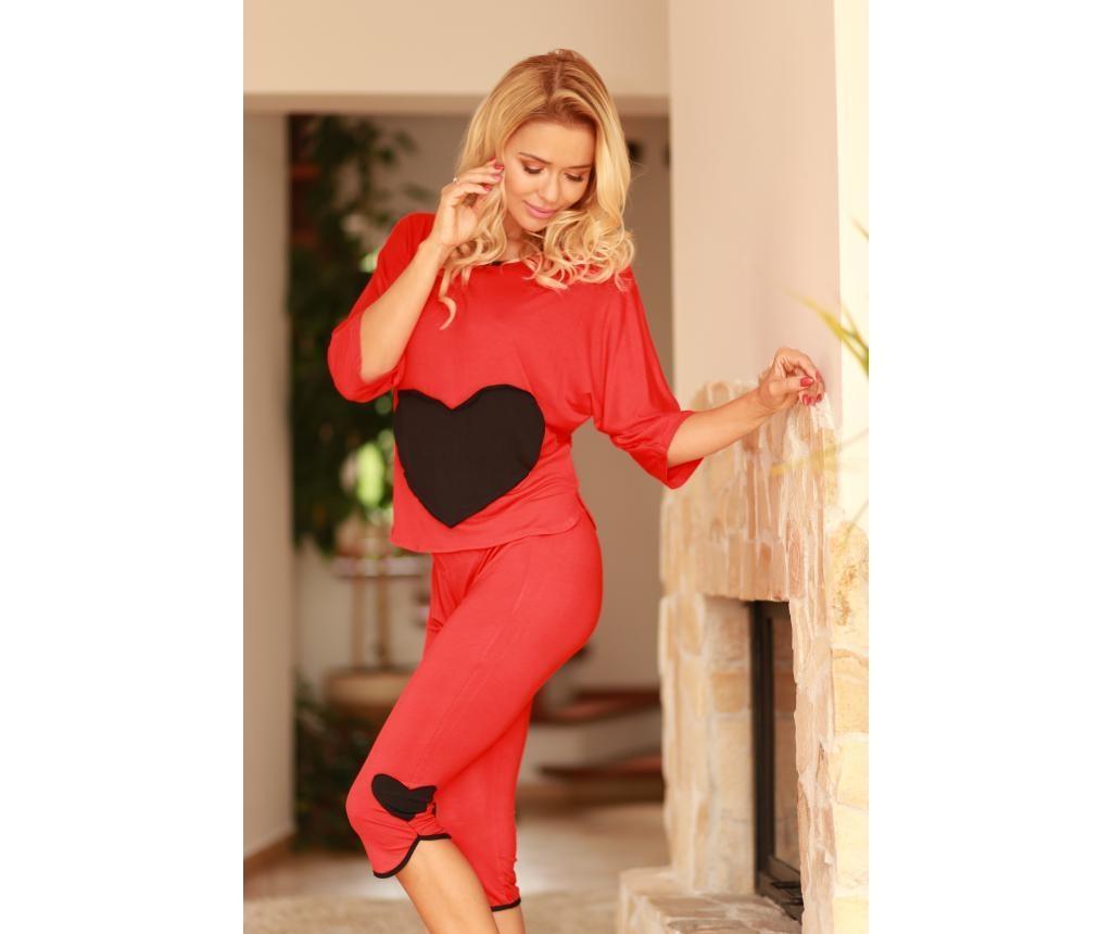 Ženska pižama Vigo Red Knit 38