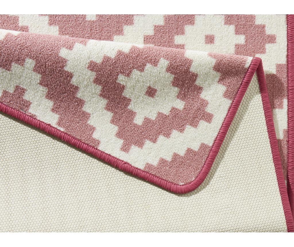 Covor Loop Pink Creme 67x180 cm