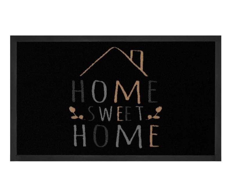 Otirač Printy Home Black Creme 45x75 cm