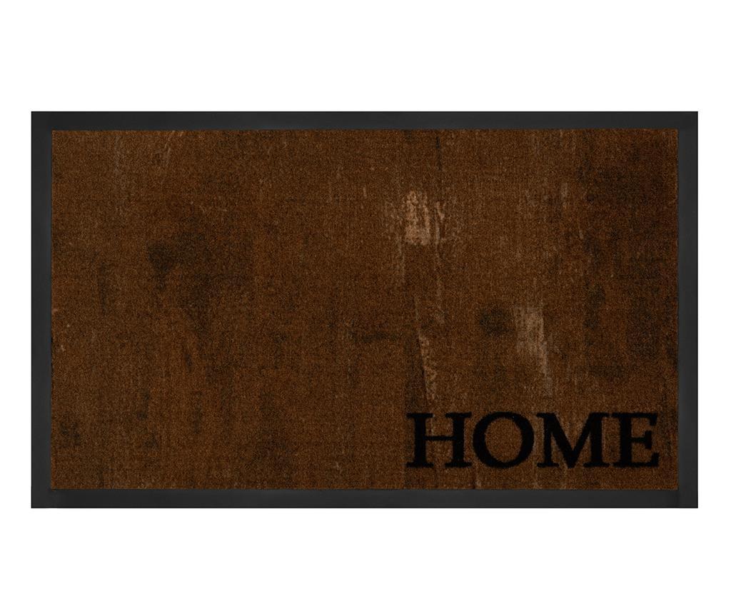 Covoras de intrare Printy Style Brown Anthracite 45x75 cm