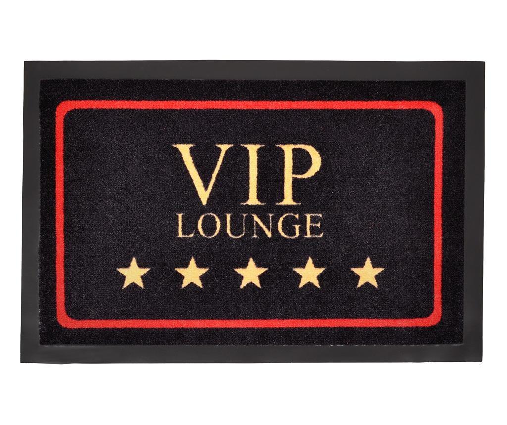 Covoras de intrare Printy VIP Black Gold Red 40x60 cm