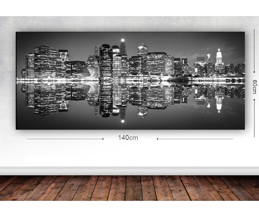 Slika City Lights 60x140 cm